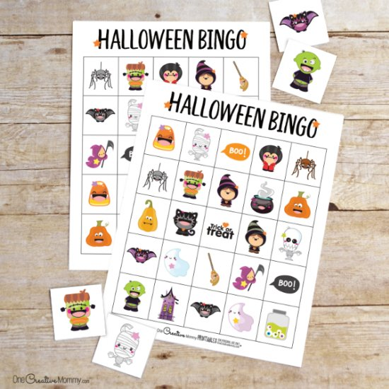 image regarding Printable Halloween Bingo Card called bingo gallery craftgawker