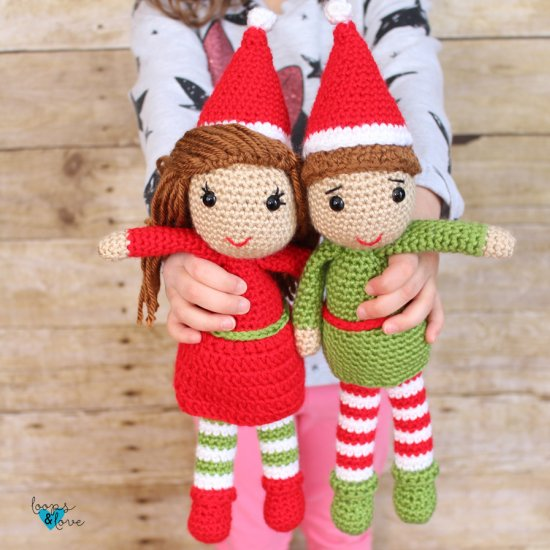 Christmas Amigurumi Crochet Patterns - Super Cute Kawaii!! | 550x550