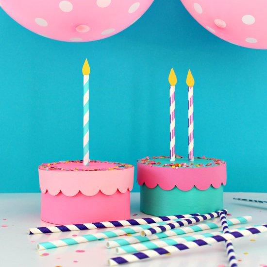 Diy Birthday Cake Boxes Craftgawker