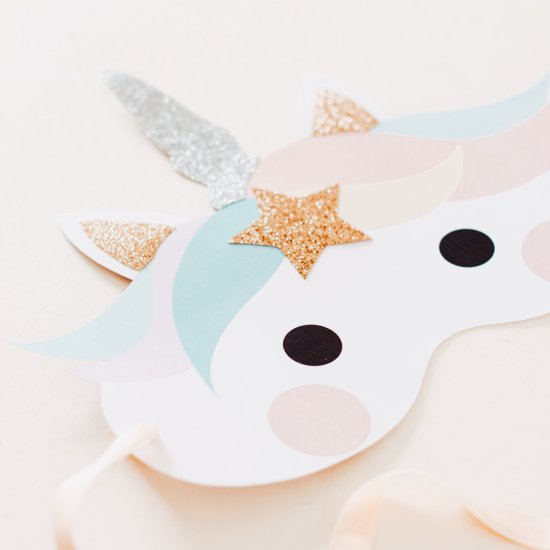 picture about Printable Unicorn Mask named unicorn mask craftgawker