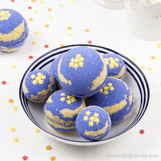 Aromatherapy Bath Bombs for Sleep