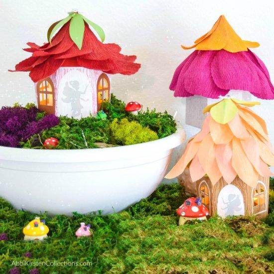 diy fairy house craft | craftgawker