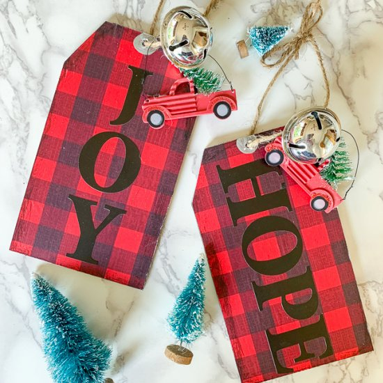 Dollar Store Christmas Decor Tags Diy Christmas Ornaments