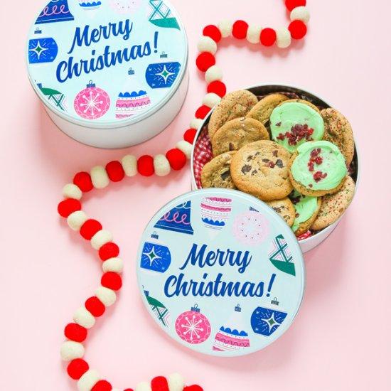 Cookie Tin Free Printable