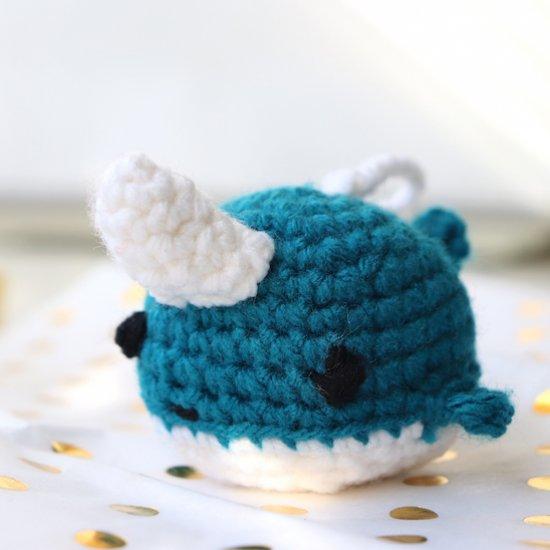Narwhal Amigurumi Crochet [FULL TUTORIAL] | DIY Amigurumi - YouTube | 550x550