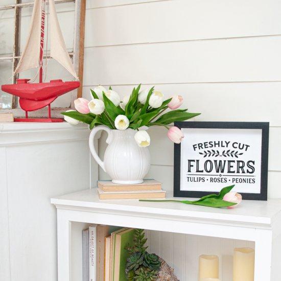 Spring Flower Shop Sign