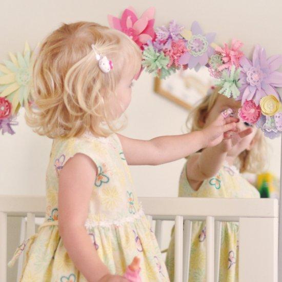 Diy Paper Flowers Mirror Craftgawker