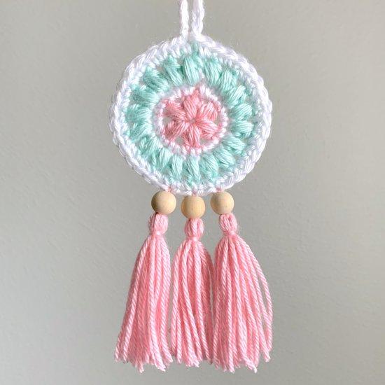 Free Crochet Dreamcatcher Pattern