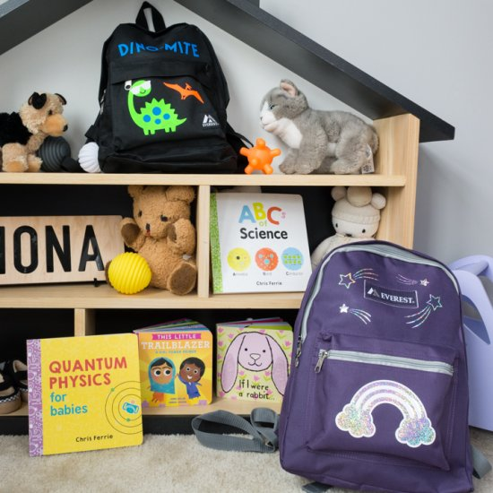 personalizing backpacks with Cricut