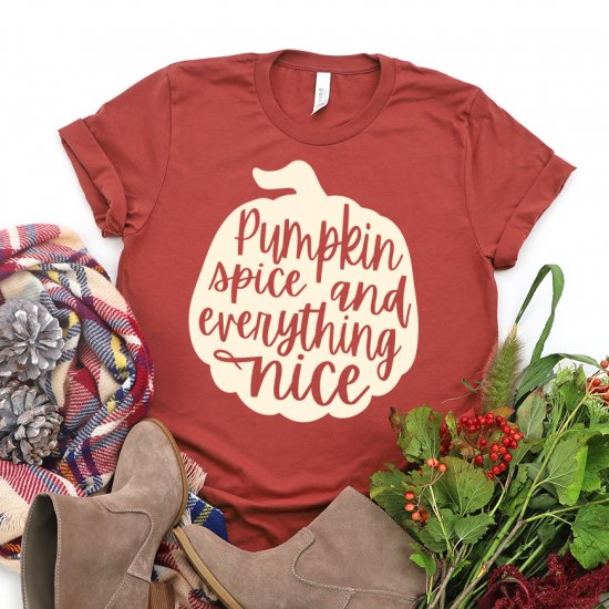 Pumpkin Spice & Everything Nice SVG