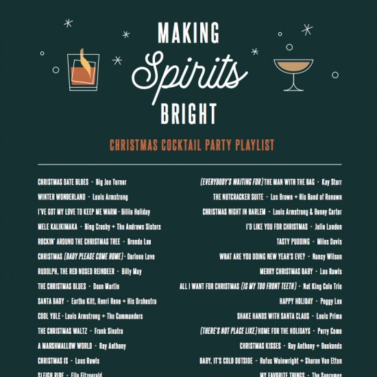Christmas Cocktail Party Playlist